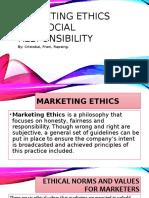 Marketing Ethics sample