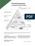 Uso de La Piramide Nutricional