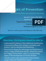 The Stages of Prevention 2013
