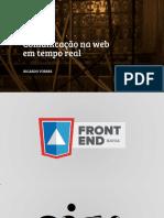 WebRTC - Comunicação Na Web Em Tempo Real