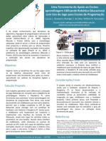 Poster - Uma Ferramenta de Apoio ao Ensino- aprendizagem Utilizando Robótica Educacional com Uso de Jogo para Ensino de Programação