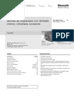 Catálogo de Bombas Gear Bosch Typ