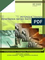 Juknis BPK Audit Keuangan Materialitas