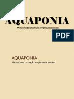 Aquaponia AQUAPONIA Manual para produção em pequena escala