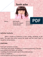 Tooth Ache Ppt