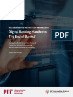 Mit Digital Bank Manifesto Report