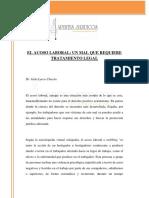 Acoso Laboral Ecuador