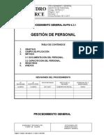 AV-PG 6.2.1 Gestion de Personal