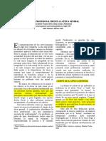 Fuentes (2006) La Ética Profesional Frente a La Ética General