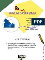 Tugas Kimia Kelompok 4 (Hukum - hukum Dasar Kimia).ppt