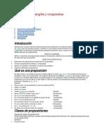 Proposiciones Simples y Compuestas (estructuras discretas)
