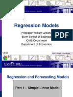 Regression 1 SimpleLinearModel