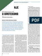 Upravljanje zalihama u apotekama (deo 2 - metode upravljanja zalihama)