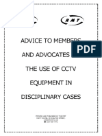 Use of CCTV in Disciplinaries Booklet