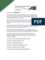 Cat Behavior Q & Answers
