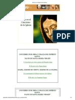 María en el Catecismo de la Iglesia