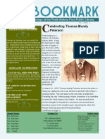 Library Newsletter February&March