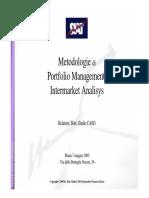Metodologie Di Portfolio Management