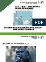 Higiene Postural Manejo de Cargas