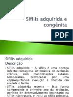 Sífilis adquirida e congênita gggg.pptx