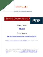 BR0-003 CompTIA A+ Bridge (2009 Edition) Exam Questions