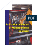 Capitulo 1, La Productividad en El Mantenimiento Industrial, Dounce Villanueva, Enrique