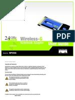 Wireless G UserGuide