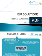 Eim Solutions Best Sap Consulting