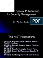 The NIST Special Publications