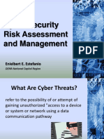 Cyber Security Risk Assessment and Management