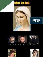 Ave Maria 5 Versiones. M.a.D