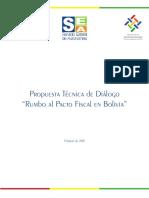 Documento de Pacto Fiscal Impresion