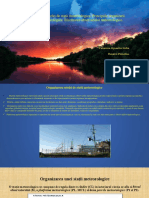 Organizarea Retelei de Statii Meteorologice