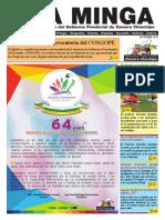 La Minga Informativo Octubre 2017 #ZamoraChinchipe
