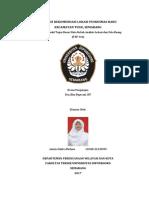 Analisis Lokasi Puskesmas Baru, Kecamatan Tugu