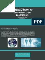 PROCEDIMIENTOS de micologia general