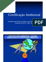 Certificação ambiental