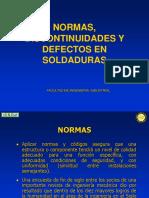 Normas, Discontinuidades y Defectos en Soldaduras - Payend 2 (1)