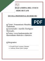 Materialismo Dialectico e Historico[1]
