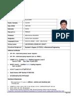Bijukumar - CV