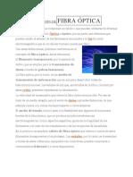 DEFINICIÓN DEFIBRA ÓPTIC1