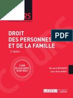 Lextenso étudiant - Droit des personnes et de la famille