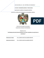 Determinación Espectrofotométrica de Ácido Carmínico en Muestra de Cochinilla