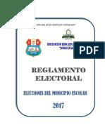 Reglamento Electoral 2017...