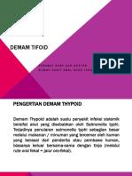 DEMAM TIFOID edukasi
