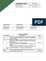 Identificación de Peligros, Evaluación de Riesgos y Determinación de Controles