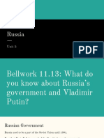russia unit 6