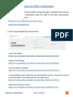 Guidance for PSM-I Certification v1.1