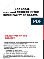 Analysis of Local Elections...