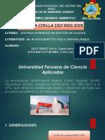 iso 90012015 UPC